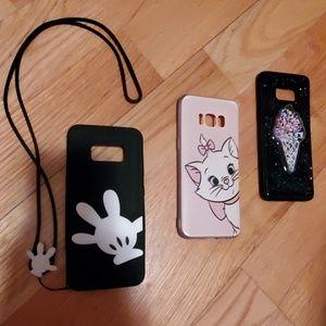 SAMSUNG Galaxy S8 (3) Phone Cases
